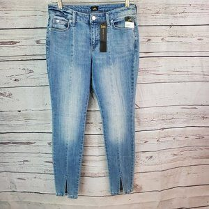 Lee Modern Series Matinee Skinny Slit Leg Jeans 8